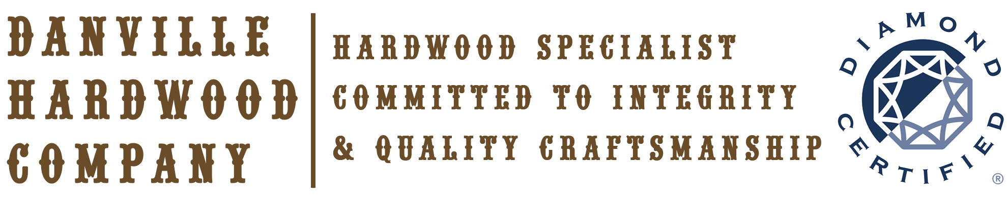 Danville Hardwood Company Logo